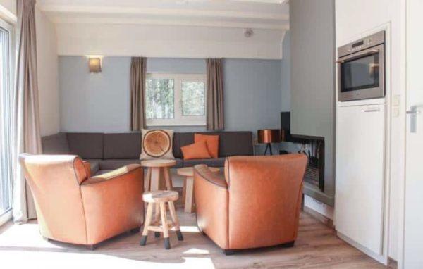 Vakantiehuis Achtermars - Nederland - Overijssel - 6 personen - woonkamer