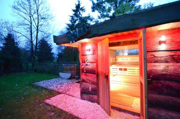 Natuurhuisje in Ursel 33940 - België - Oost-vlaanderen - 4 personen - sauna