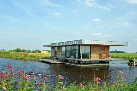 Watervilla de Roerdomp - Nederland - Friesland - 6 personen