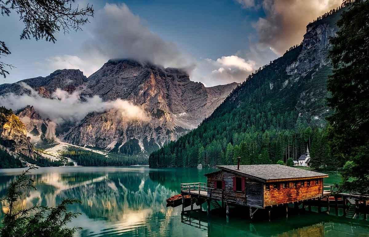 wellness huisje Italië met sauna