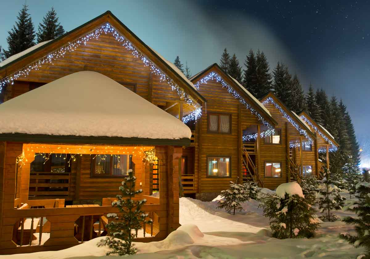 vakantiehuis met sauna wintersport
